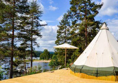 Årjäng Campings Glampingtält