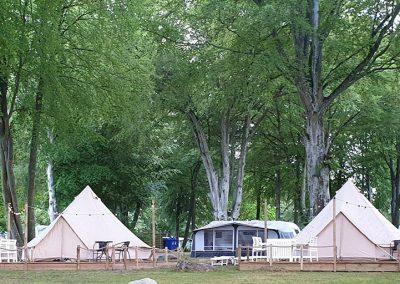 Glampingtält Norje Boke Camping