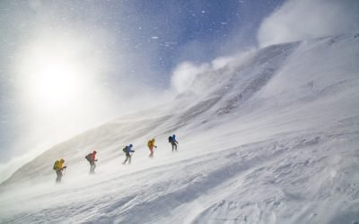 Skitouringvecka i Kaitumjaure & Kebnekaisemassiven