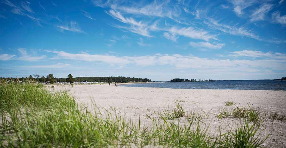Sveriges 16 bästa campingplatser 2021 - Pite Havsbad - Foto TT